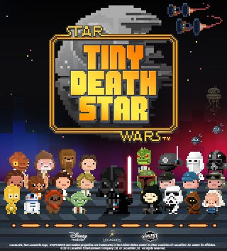 Illustration for article titled They're Making a Tiny Tower Set In The Death Star