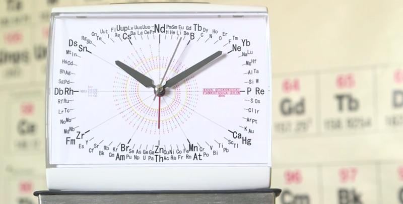 Illustration for article titled Hay una forma mejor de organizar los elementos químicos: un reloj