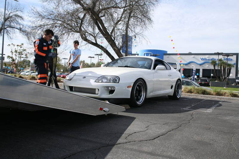 Illustration for article titled Supercar Sunday and the Low, No Go Supra