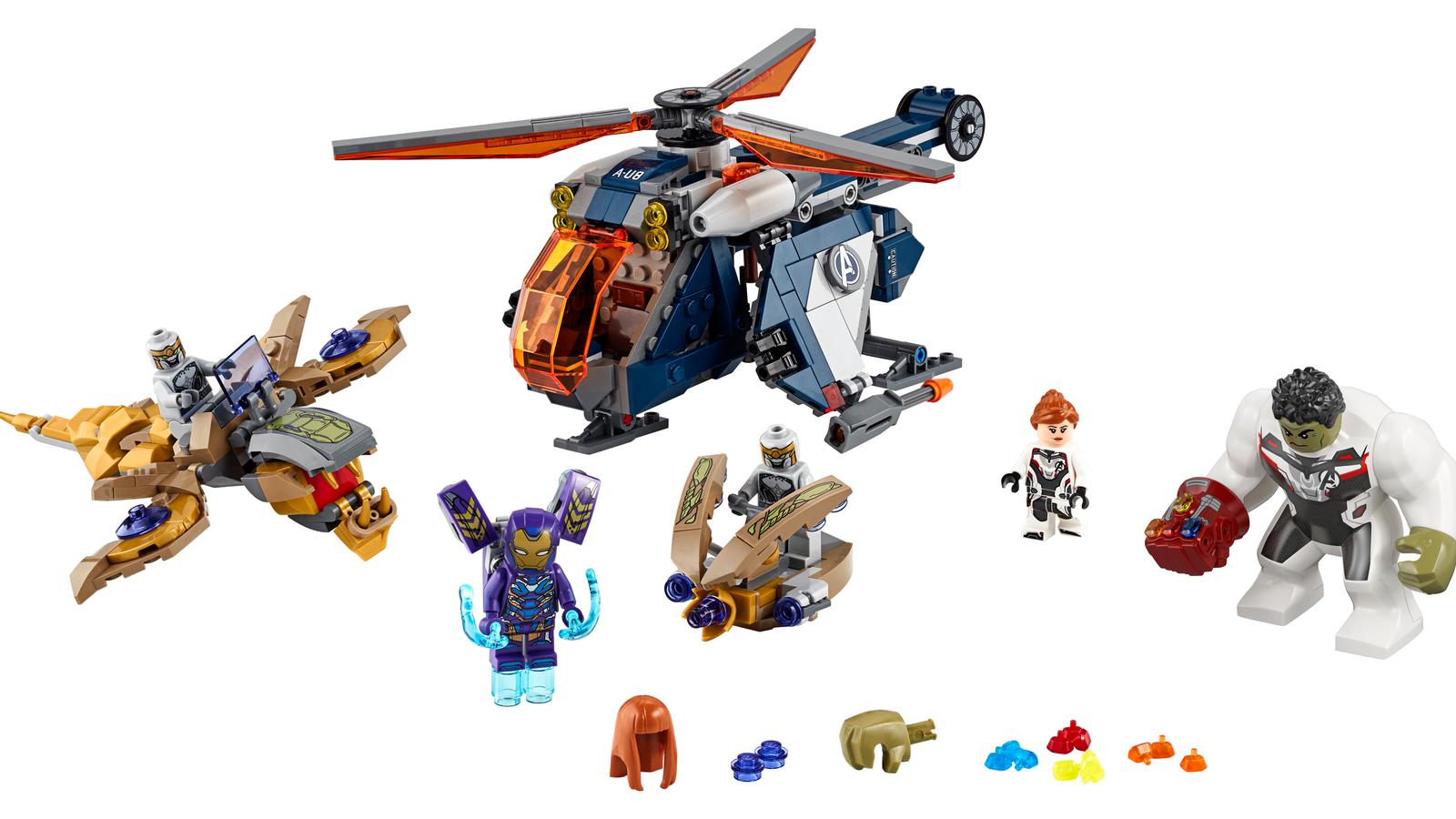 New Lego Marvel Sets 2020 Exclusive: Lego's New Avengers: Endgame Set, Black Widow & Hulk
