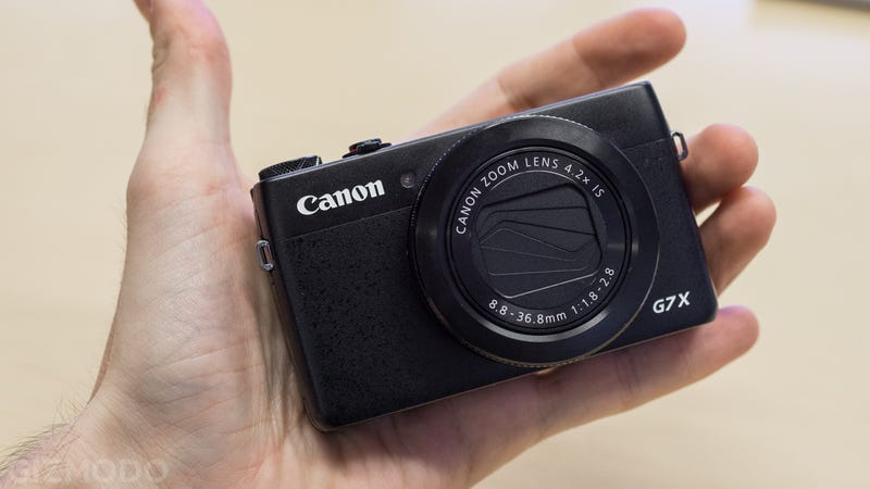 Illustration for article titled ​Canon G7 X: Canon Catches Up With a Tiny 1-Inch Sensor Point-and-Shoot