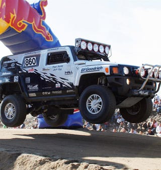 Illustration for article titled Septuagenarian Wins 21st Baja 1000 Title In Hummer H3