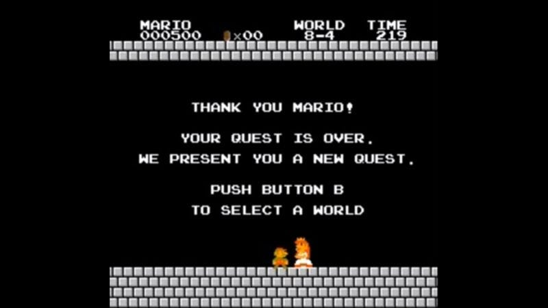Illustration for article titled A YouTube user scored just 500 points in an entire game of Super Mario Bros.