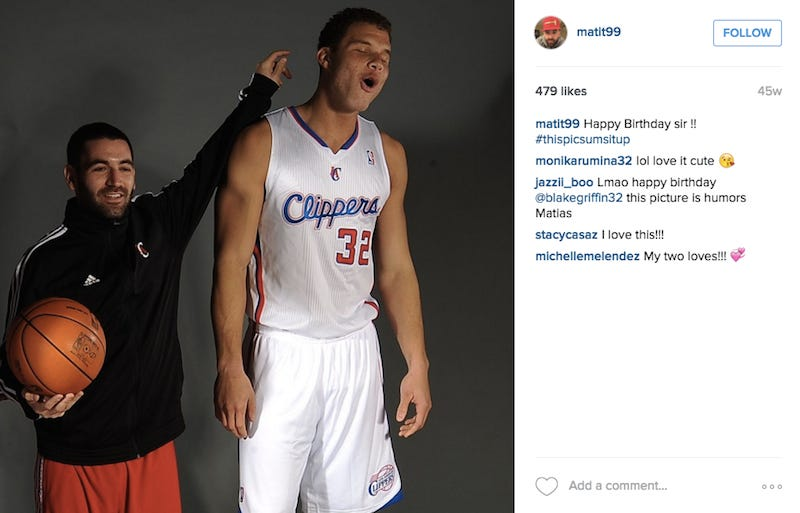 Illustration for article titled Here's The Clippers' Equipment Manager That Blake Griffin Reportedly Punched