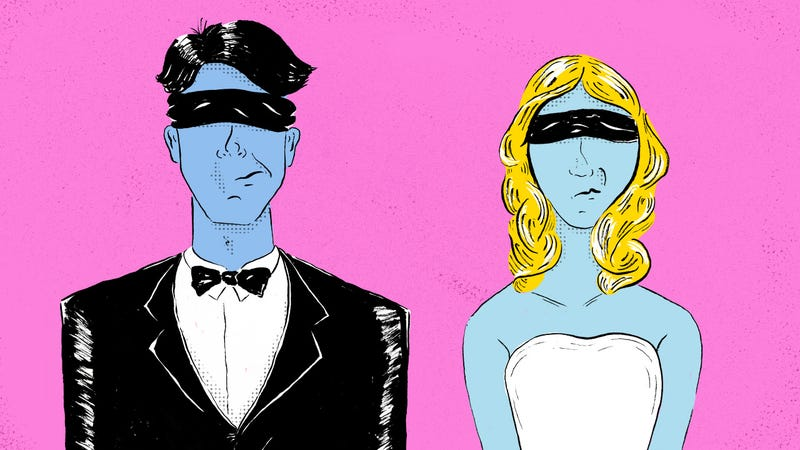 Illustration for article titled Arranged Marriage vs. IRL vs. Right-Swipe: Which Got You Hitched?