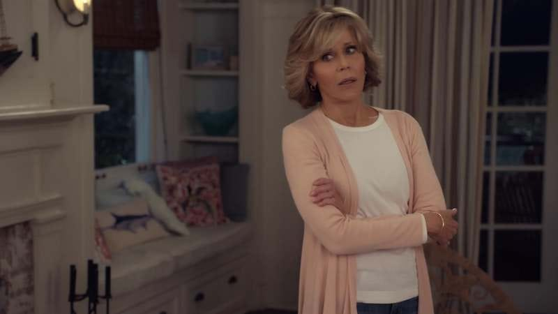 """Illustration for article titled """"The Gun"""" rips Grace And Frankie apart"""