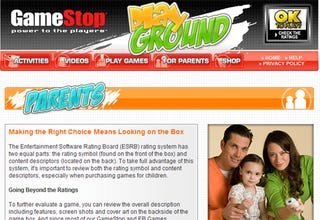 Illustration for article titled GameStop Unveils Enticing Family Site