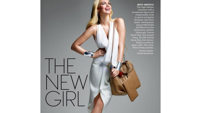 Illustration for article titled See Kate Upton's Spread In Vogue