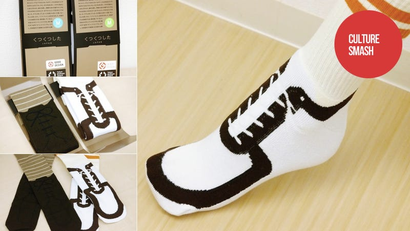 Illustration for article titled Damn Good Japanese Socks Allow People To Wear Shoes Indoors