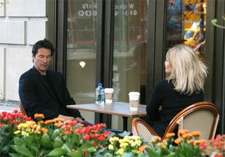 Illustration for article titled Keanu & Friend: The Coffee Is Stimulating, The Conversation Is Not