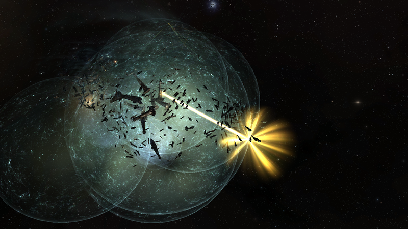 Illustration for article titled EVE Online's Two Biggest Factions Had an Enormous Battle Yesterday