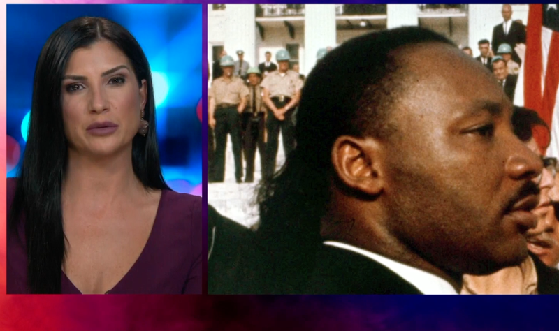 "Dana Loesch in a recent video in which she lauded Martin Luther King Jr. for making change ""without insulting anyone"""