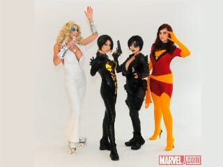 Illustration for article titled An Epic Marvel Cosplay Shoot