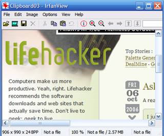 Illustration for article titled Download of the Day: IrfanView (Windows)