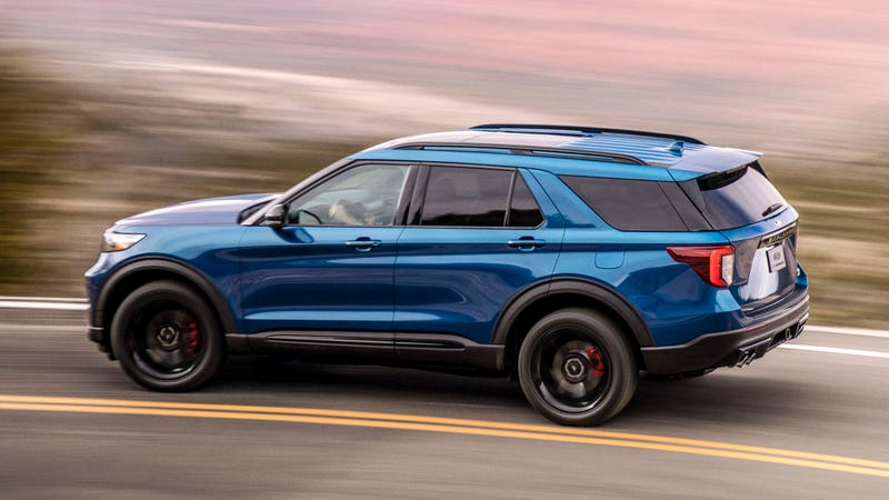 Illustration for article titled The 2020 Ford Explorer ST offers a Track Pack