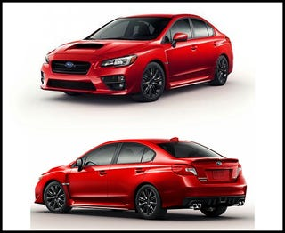 Illustration for article titled What is it about the 2015 Subaru WRX...
