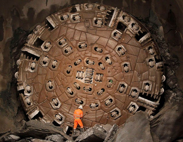 The Longest, Deepest Rail Tunnel on Earth Just Opened in the Swiss Alps