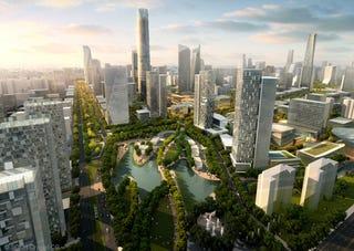 Illustration for article titled Beijing Expansion Looks Like High Tech Eden