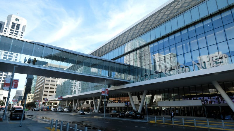 San Francisco's Moscone Center, site of the RSA Conference, photographed earlier this year.