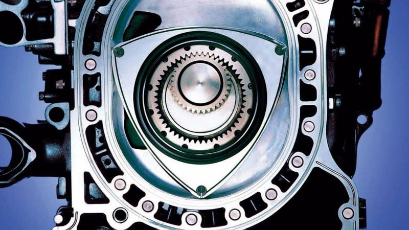 Illustration for article titled Why Mazda Keeps the Rotary Engine Flame Alive