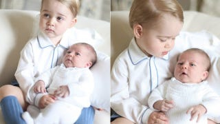 Illustration for article titled Charlotte Is 'Easier' Than Prince George, Not That It's a Competition