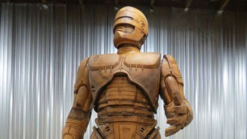 """Illustration for article titled It's """"RoboCop Day"""" in Detroit as RoboCop statue prepares to be unveiled [UPDATED]"""