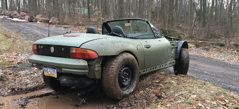 Good Afternoon, I Have Discovered The Best BMW Z3; It Is This Nasty Off-Road Beast