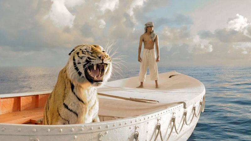 Illustration for article titled Thanksgiving Weekend Box Office: America gorges itself on patriotism, vampires, and CGI tigers