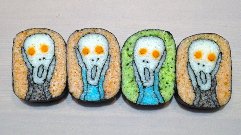 Illustration for article titled You've Never Seen Sushi Like This