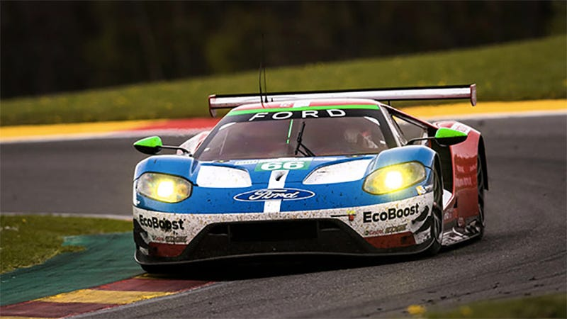 Heres The Car At Spa Not Le Mans But You Get The Idea Photo Ford Performance