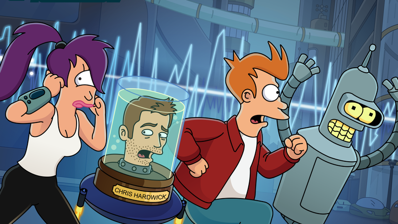 'Futurama' Returns in Podcast Form With Original Cast