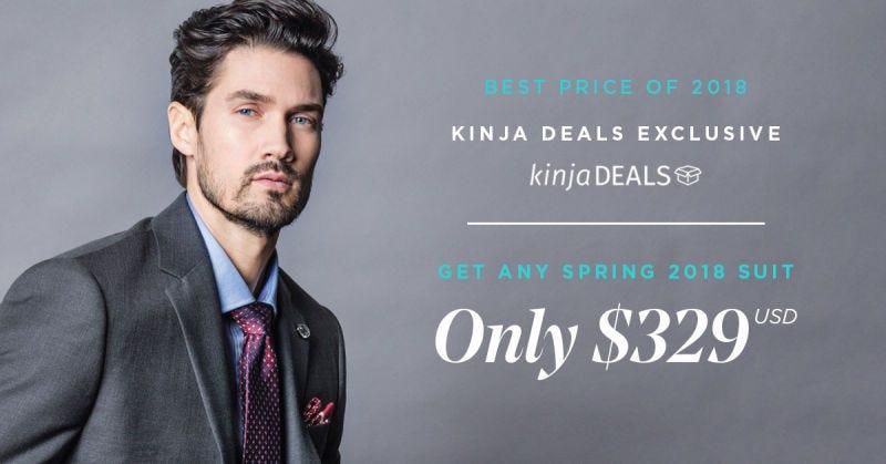 Trajes premium de Indochino   $329   Indochino   Usa el código KINJA18Imagen: Indochino