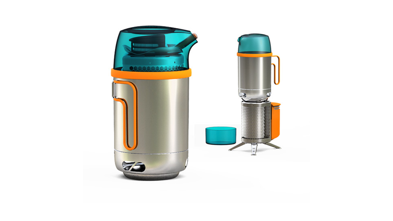 Illustration for article titled This Cool Camping Gadget Pours Like A Kettle But Cooks Like a Pot