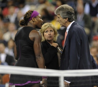 Illustration for article titled Serena Williams Fined $10,000 For U.S. Open Incident