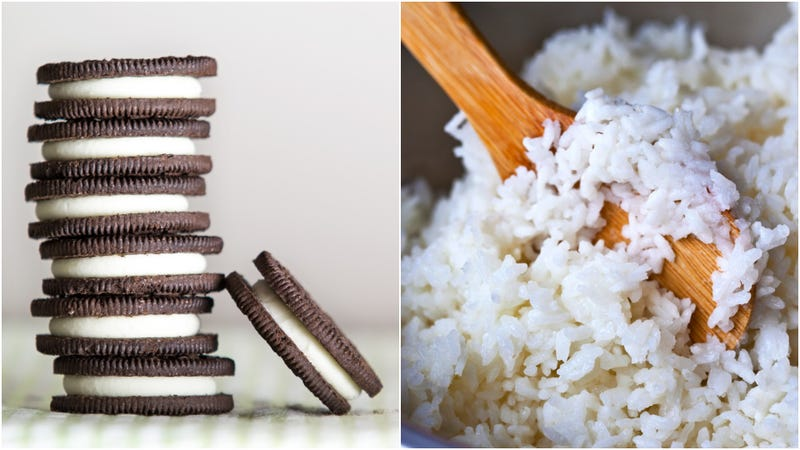 Illustration for article titled This week in weird Twitter food: Oreo rice?