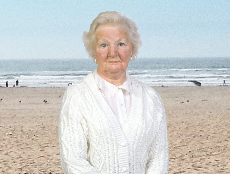 Illustration for article titled Grandma Excited To Show Off New Beach Sweater