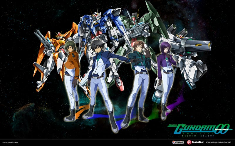 Illustration for article titled Nyren's Corner: Right Stuf Announces US Release of Mobile Suit Gundam 00