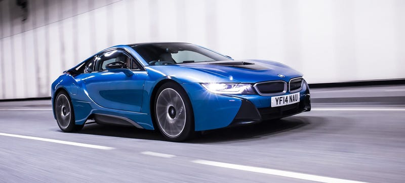 Illustration for article titled Is BMW Cooking Up A Super i8 To Celebrate Their 100th Birthday?