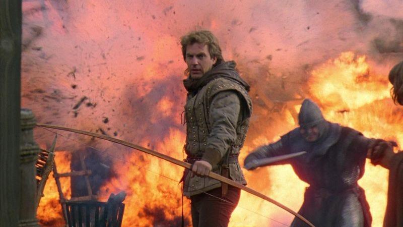 Kevin Costner in Robin Hood