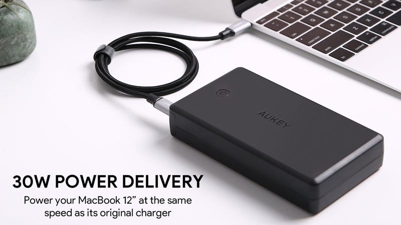 Aukey USB-C PD 26,500mAh Battery Pack | $56 | Amazon | Promo code AUKEYPD7