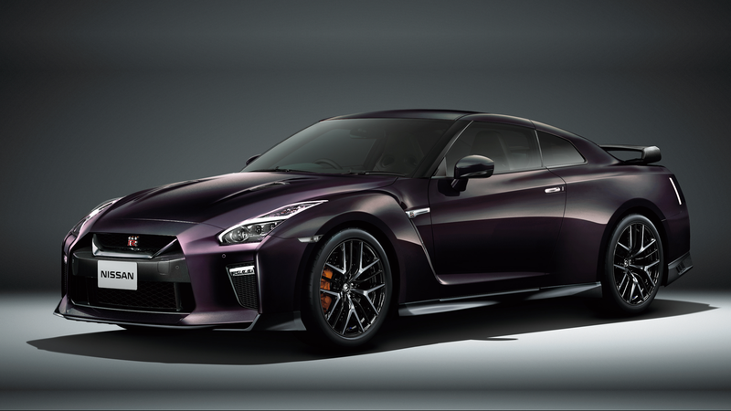 Illustration for article titled If You Love Tennis and Speed This Is the Nissan GT-R For You