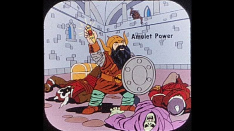 Illustration for article titled Give in to nostalgia with a Dungeons & Dragons View-Master reel
