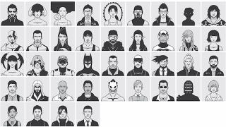 Illustration for article titled Recognize These Video Game Faces? Here's the Guy Who Drew Them