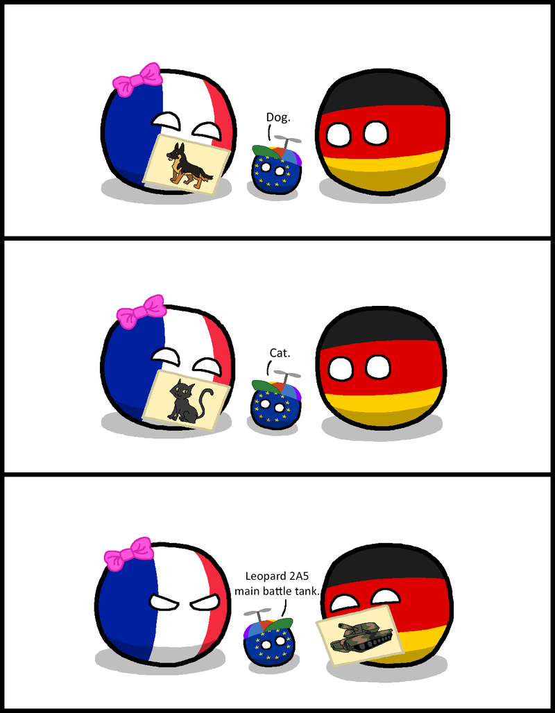 Illustration for article titled Nightly Polandball: Papa Deutschland