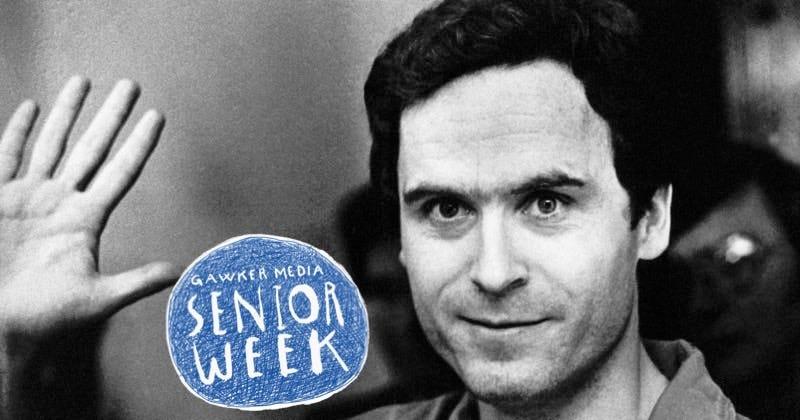 Ted Bundy waves hello. Image: AP