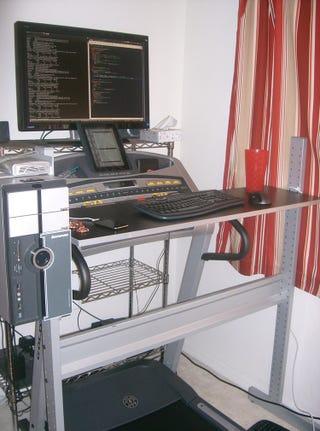 ikea jerker do it yourself treadmill desk. Black Bedroom Furniture Sets. Home Design Ideas