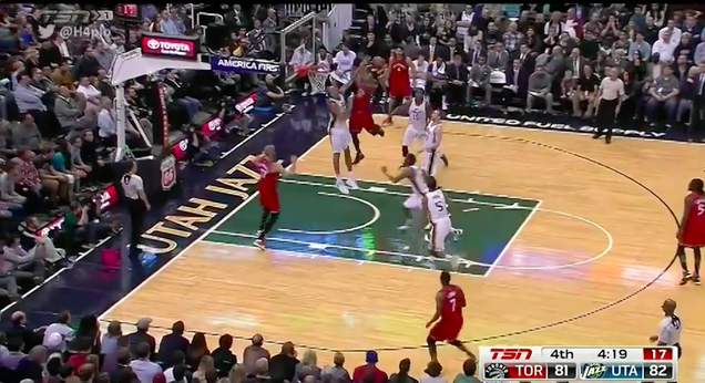 DeMar DeRozan Ends Rudy Gobert's Life With Ferocious Dunk