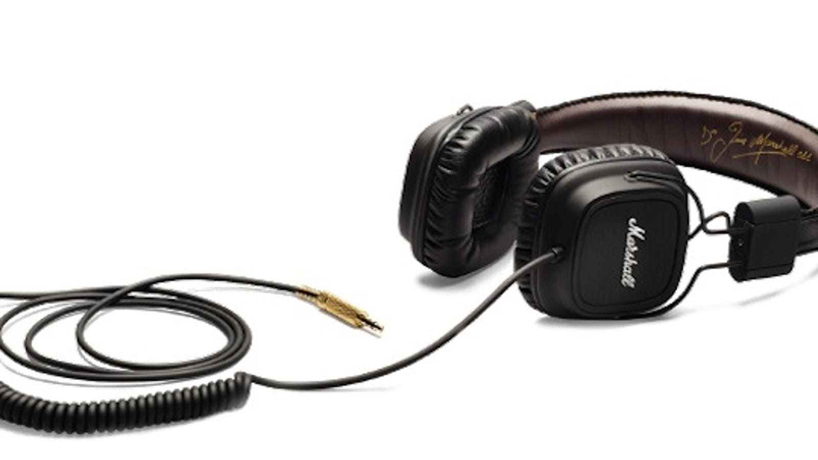 tree branch headphone splitter - Marshall's Headphones Are Handsome as Hell, Big or Small
