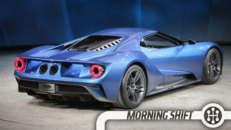 Illustration for article titled The New Ford GT Was Secretly Designed In A Basement Storage Room