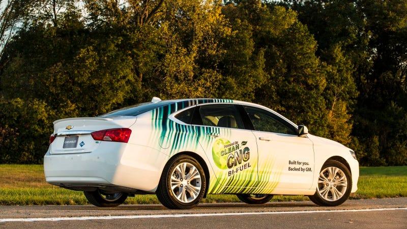 Illustration for article titled Akerson Announces Bi-Fuel Chevrolet Impala Sedan